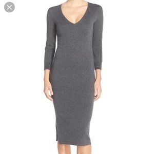 French Connection Bambino Midi sweater dress Sz 4